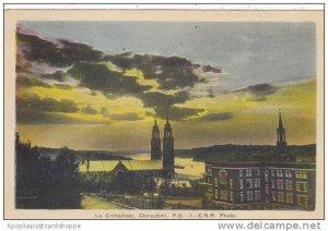Canada Quebec Chicoutimi La Cathedrale 1949