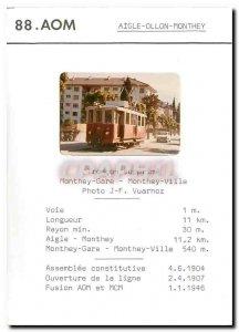 Postcard Modern Eagle Monthey Ollon removes Troncon