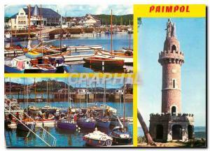 Postcard Modern Paimpol Basin has Flats and Tower Kerroch