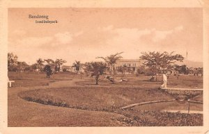 Insulindepark Bandoeng Indonesia, Republik Indonesia Postal Used Unknown, Mis...