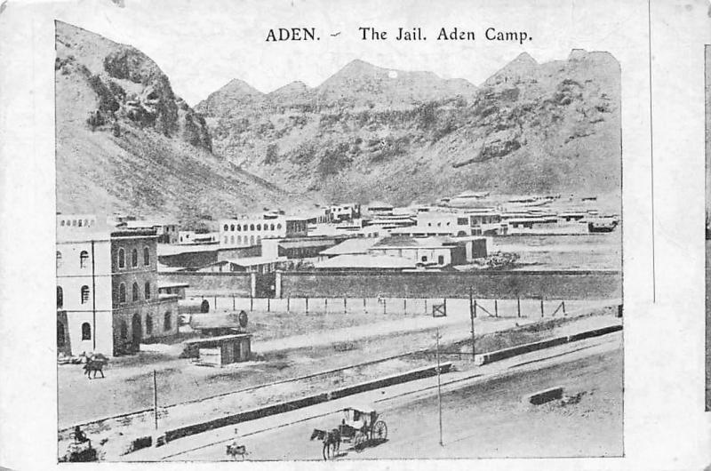 Yemen Aden, Aden Camp, The Jail, Prison, Horse Carriage