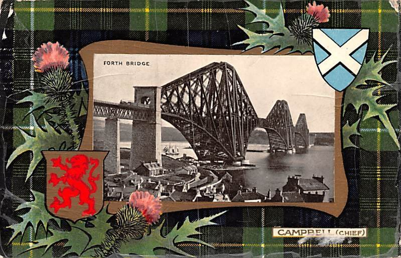 Forth Bridge Campbell Chief Scotland, UK 1908