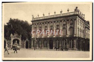 Old Postcard Nancy Place Stanislas The Theater