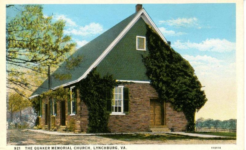 VA - Lynchburg. The Quaker Memorial Church