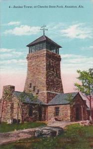 Alabama Anniston Bunker Tower At Cheaha State Park