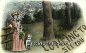 Misc Artist Signed Postcard Post Card Old Vintage Antique  Artist Unknown Pos...