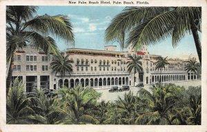 New Palm Beach Hotel, Palm Beach, Florida, Early Postcard, Unused