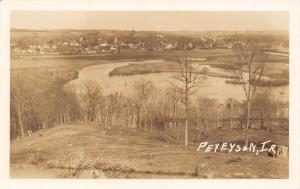 Peterson IA View Over Little Sioux From Clay, Wanata State Park RPPC 1911 PC