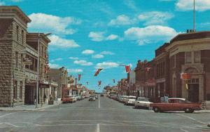 Main Street , Fort MaCleod , Alberta , Canada , 50-60s