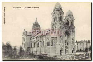 Old Postcard Nancy Sacre Coeur Church