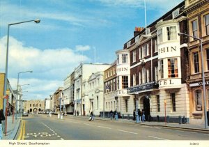 Hampshire Postcard, High Street, Southampton by E.T.W Dennis & Sons Ltd 47W