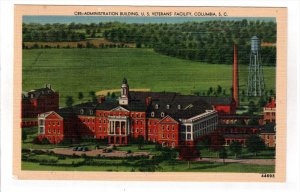 COLUMBIA, South Carolina; Administration Building, U. S. Veterans' Facility, ...