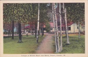 Cottages At Minetts Beach Near BARRIE, Ontario, Canada, 1930-1940s