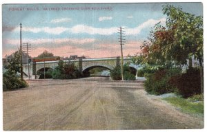 Forest Hills, Railroad Crossing Over Boulevard