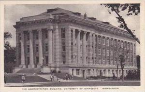 Minnesota Minneapolis The Administration Building University of Minnesota Alb...