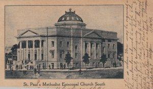 HOUSTON , Texas, 1907 ; St Paul's Methodist Episcopal Church South