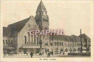 Old Postcard Metz Station