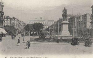 ALEXANDRIA, Egypt, 1900-10s; Place Mohammed Ali