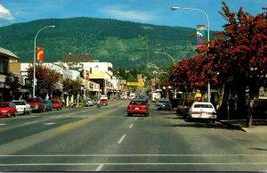Canada British Columbia Vernon Main Street