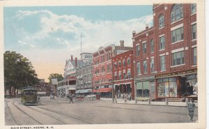 KEENE , New Hampshire , 1910s ; Main Street