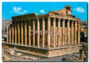 Postcard Modern Lebanon Temple of Bacchus