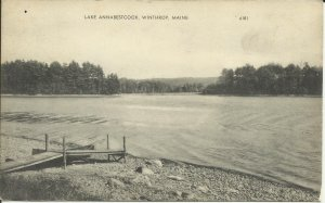 Lake Annabestcook, Winthrop, Maine, Photolux