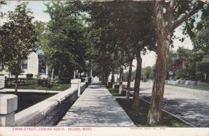 HELENA, Montana, PU-1910; Ewing Street, Looking North