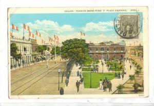 Avenida Saenz Pena y Plaza Casanave, Callao, Peru, PU-1930