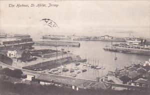 The Harbour, Sailing Boats, St. Helier, JERSEY, Channel Islands, UK, PU-1906