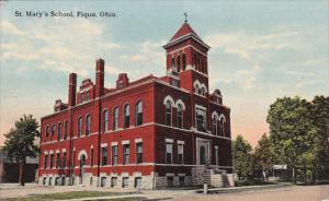 PIQUA , Ohio , 00-10s ; St Mary's SChool