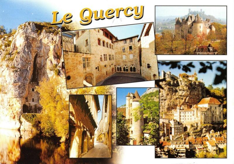 France Multi View Postcard, Le Quercy 31R