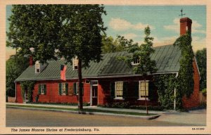 Virginia Fredericksburg The James Monroe Shrine Curteich
