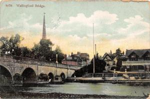 England Wallingford Bridge, on Thames 1907