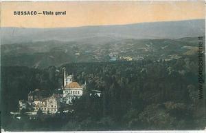 VINTAGE POSTCARD PORTUGAL  - BUSSACO