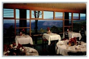Dining Room Volcano House Hawaii Vintage Standard View Postcard