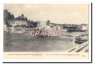 Lagny Thorigny Old Postcard The stone bridge of Lagny Thorigny
