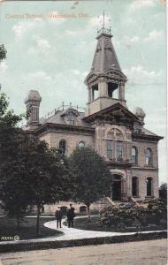 WOODSTOCK, Ontario, Canada, PU-1908; Central School