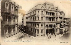 CPA Geiser 66 Oran Succursale de la Banque ALGERIE (756796)