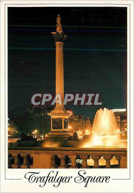 Modern Postcard Trafalgar Square LOndon