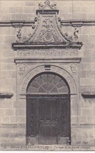 Chateau d´ AZAY-le-RIDEAU, Portique de la Facade orientale, Indre et Loire, ...