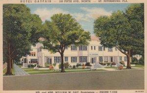 ST PETERSBURG , Florida , 30-40s ; hotel Gayfair