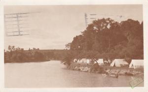 RP: Camping at Pt. Bruce, AYLMER , Ontario , Canada ,1923