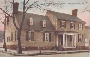 Mary Washington House Fredericksburg Virginia Handcolored Albertype