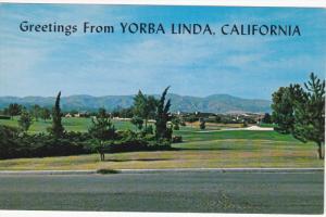View of YORBA LINDA, California, 40-60's