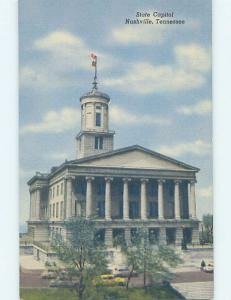 Unused Linen STATE CAPITOL BUILDING Nashville Tennessee TN G0869
