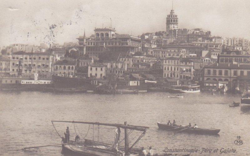 RP: Pera de Galata , Constantinople, Turkey, 00-10s