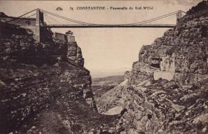 Passerelle Du Sidi M'Cid, CONSTANTINE, Algeria, Africa, 1900-1910s