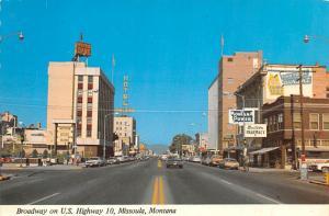 Broadway - Missoula, Montana
