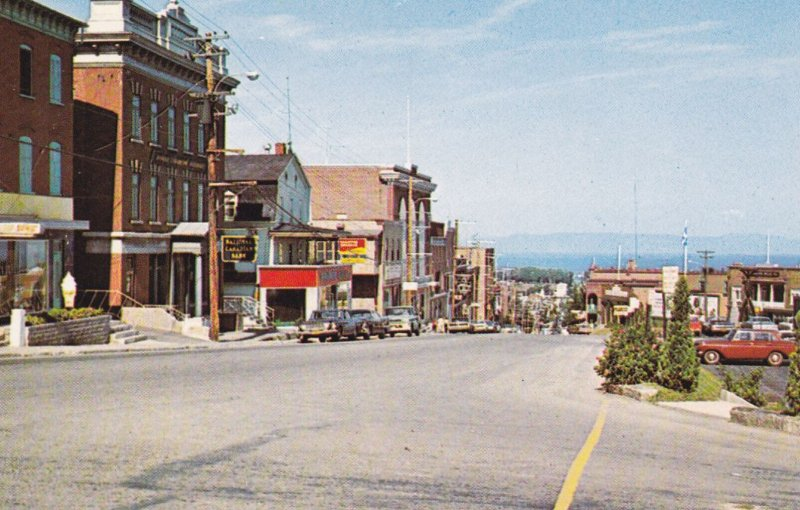 RIVIERE-DU-LOUP , Quebec , Canada , 1965 ; Main Street