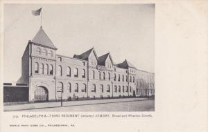 Third Regiment (Infantry) Armory, Broad and Wharton Streets, PHILADELPHIA, Pe...
